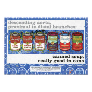 canned soup, really good in cans photo print