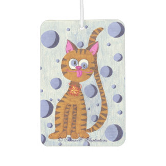 Cannelle the Cat custom air freshener