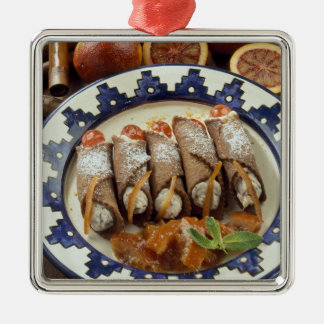 Canneloni di ricotta - Sicily - Italy For use Christmas Ornament