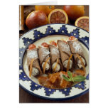 Canneloni di ricotta - Sicily - Italy For use Greeting Card