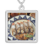 Canneloni di ricotta - Sicily - Italy For use Necklaces