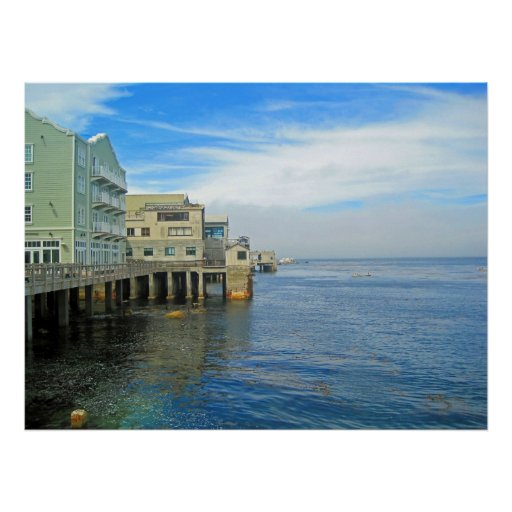 Cannery Row Waterfront South Poster