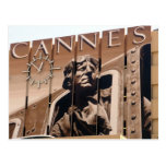 cannes clock post card