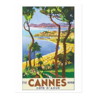 Cannes Cote D' Azur Postcard