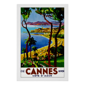 Cannes - Cote d'Azure Poster