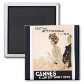 Cannes Film Festival 1939 Magnet