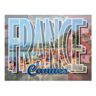 Cannes, France Postcard