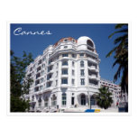 cannes hotel postcards