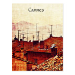 Cannes, Provence rooftops Postcards