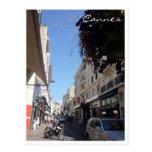 cannes rue postcard