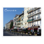 cannes streetscape postcards