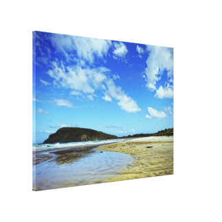 Cannibal Bay, Catlins : New Zealand Canvas Canvas Prints
