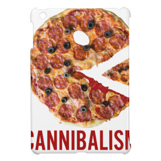 Cannibalism Pizza Eat Funny Food Cover For The iPad Mini