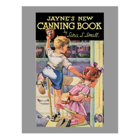 Canning Book Vintage Food Ad Art Postcard