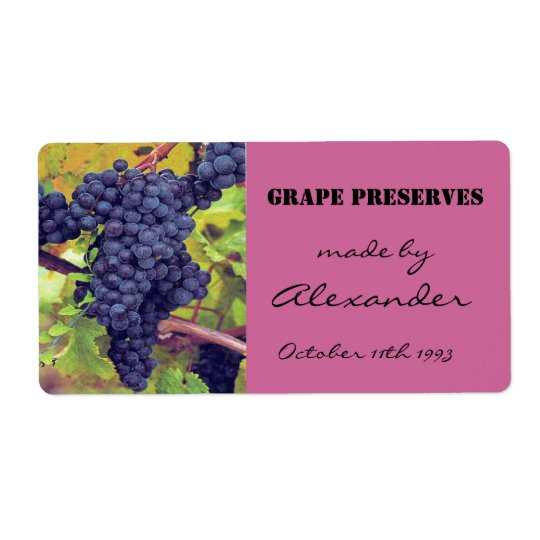 Canning Preserves Grapes