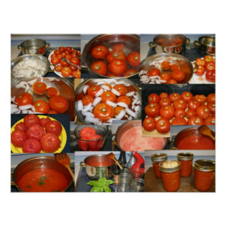 Canning Tomatoes Posters