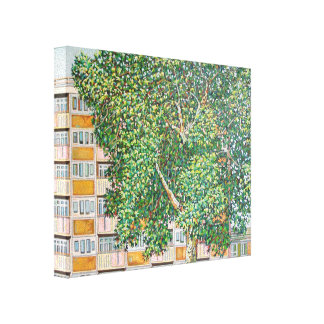 Canning Town Summer Canvas Print