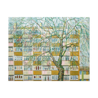 Canning Town Winter Canvas Print