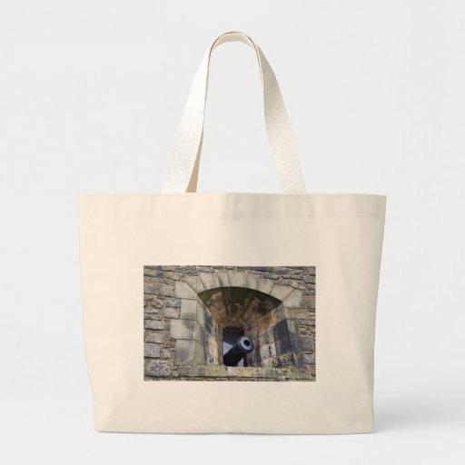 Cannon at Edinburgh Castle Bag