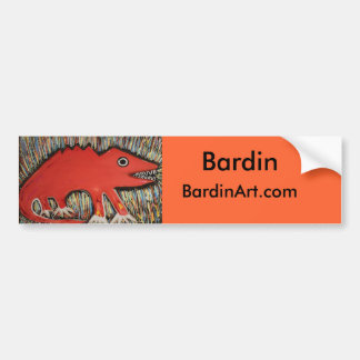 Cannon Ball, Bardin , MonsterArts.com Bumper Sticker