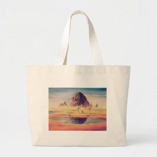 CANNON BEACH by SHARON SHARPE Canvas Bag