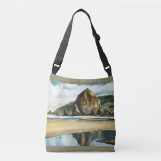 Cannon Beach Oregon Crossbody Bag