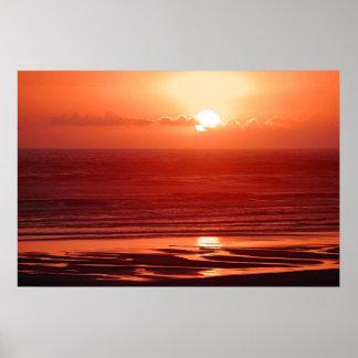Cannon Beach Sunset Print