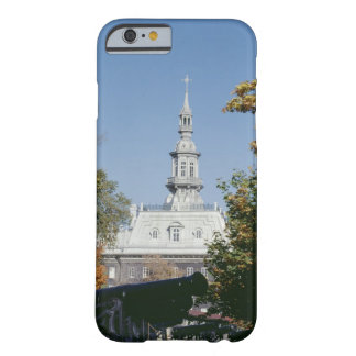 Cannon by historical building, Quebec, Canada Barely There iPhone 6 Case