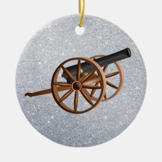 cannon christmas ornament