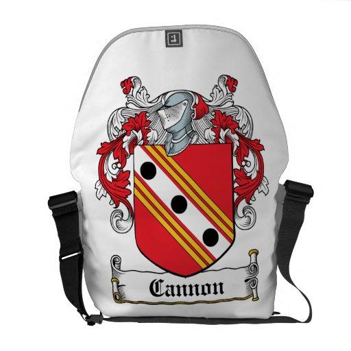 Cannon Family Crest Messenger Bag