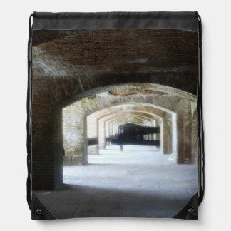 Cannon Hall Drawstring Bag