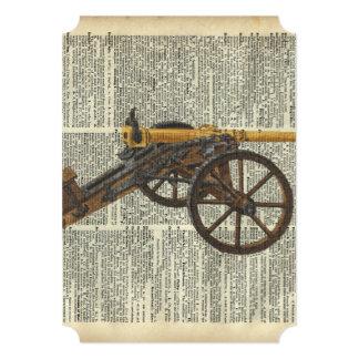 Cannon 13 Cm X 18 Cm Invitation Card