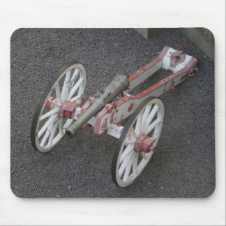 Cannon on gravel old paint mousepad