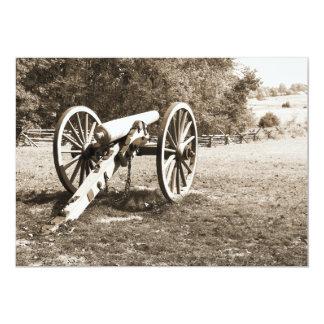 cannon on the Gettysburg Battlefield Card