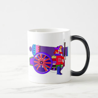 CANNON & SOLDIER MORPHING MUG