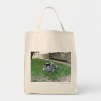 Cannon Grocery Tote Bag