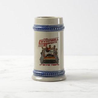 Cannonball Bandit Racing Team Stein Coffee Mug