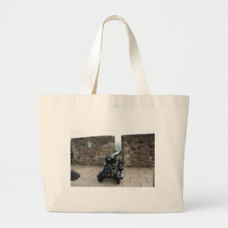 Cannons and cannon balls canvas bags