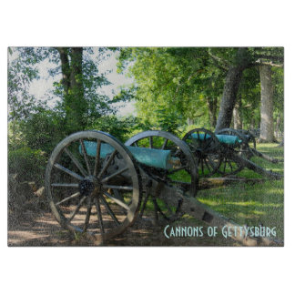 Cannons of Gettysburg National Military Park Cutting Board