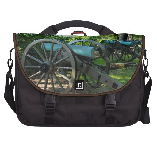 Cannons of Gettysburg National Military Park Laptop Bag