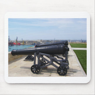 Cannons On Malta Mouse Mat