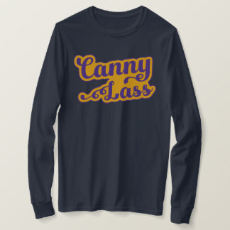 Canny Lass, Geordie Slang T-Shirt, Newcastle T-Shirt