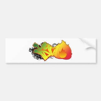 Cano FIre Bumper Sticker