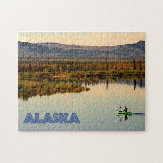 Canoe Alaska Jigsaw Puzzle