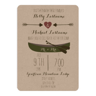 Shop Zazzle's selection of rustic wedding invitations for your special day!