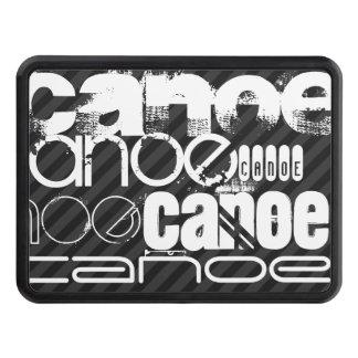 Canoe; Black & Dark Gray Stripes