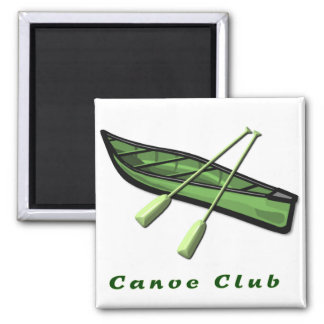 Canoe Club Design Fridge Magnet