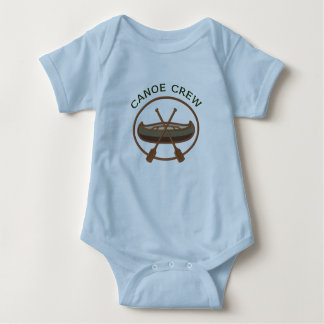 Canoe Crew Canoeing Logo Baby Bodysuit