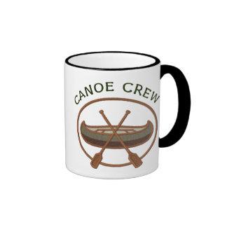 Canoe Crew Ringer Coffee Mug