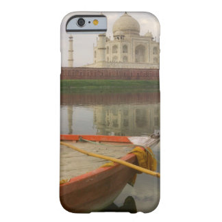 Canoe in water with Taj Mahal, Agra, India Barely There iPhone 6 Case
